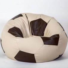 Кресло-шар «Мяч» бежево-коричневый