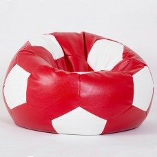 Кресло-мяч красно-белое