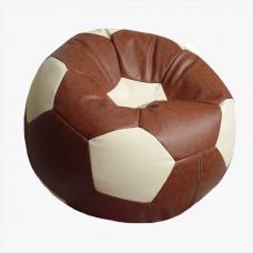 Кресло-мяч коричнево-бежевое