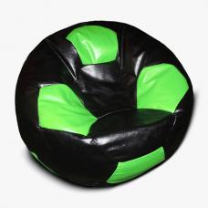 Кресло-мяч черно - зеленое