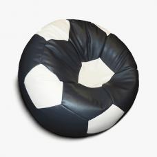 Кресло-мяч серо-белый