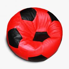 Кресло-мяч красно-черное
