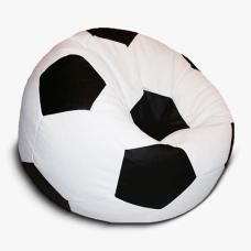 Кресло-мяч бело - черное
