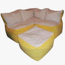 Бескаркасный диван Каспер-угловой