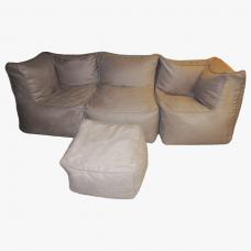 Бескаркасный диван Комби