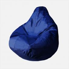 Кресло-груша «Оксфорд» синий, желтый