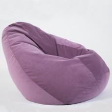 Кресло-груша «Велюр» сирень