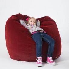 Кресло-груша «Велюр» бордо