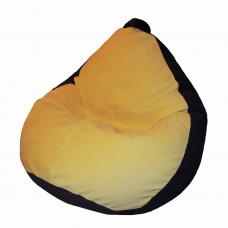 Кресло-груша «Желто-черная»