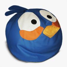 Кресло-игрушка «Ангри» синее