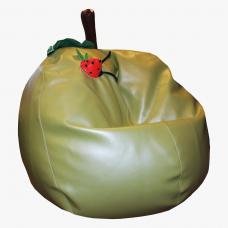 Детское кресло-мяч «Яблоко-кожзам»