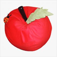 Мягкое детское кресло-мяч «Яблоко», велюр
