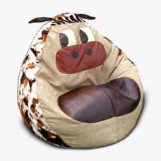 Детское кресло-игрушка «Коровка»