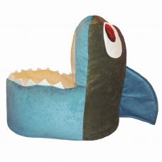 Детское мягкое кресло «Акула»