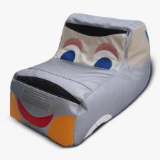 Бескаркасное кресло для детей «Машинка»