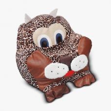 Детское мягкое кресло-игрушка «Рысь»