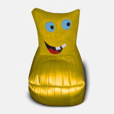 Детское мягкое кресло-игрушка «Спанч Боб»