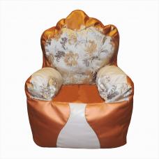 Бескаркасные кресло-трон для детей «Жасмин»
