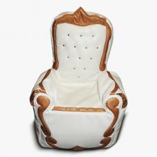 Бескаркасные кресло-трон для детей «Алиса»