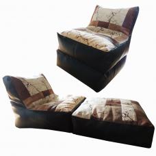 Кресло-лежак «Замша-комби»