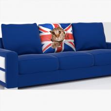 Подушка Печать «Кот»
