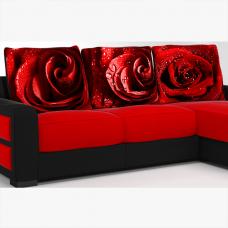 Подушка Печать «Розы»