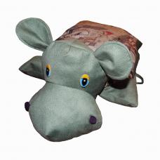 Подушка-игрушка «Бегемот-Бом»