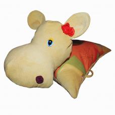 Подушка-игрушка «Бегемот-Сима»