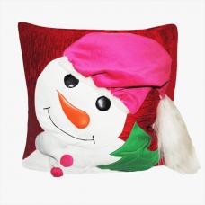 Декоративная подушка «Снеговик»
