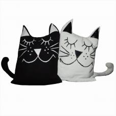 Декоративные подушки-игрушки «Котики»