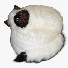 Мягкое кресло «Кот Пушистик»