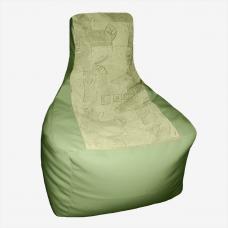 Кресло-трон «Салат»
